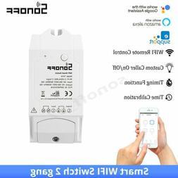 Sonoff TH16 Smart Monitoring Temperature Humidity Wifi Switc