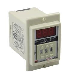 Baomain Time Delay Relay ASY-3D AC 110V 8 Pin 0.1-99.9 Secon