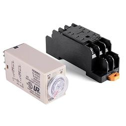 Woljay Time Delay Relay Solid State Timer 0-10 Minutes H3Y-2
