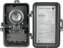 Jasco Products 15163 Box Timer, 24-Hr., Beige Metal, 120-Vol