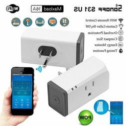 Timer Outlet WiFi Plug Sonoff -S31 Electricity Detection Sma