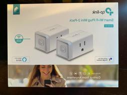 TP-Link - Kasa Smart Wi-Fi Plug Mini  - White - HS105KIT
