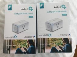 TP-Link Smart WiFi Plug Mini 2-Pack HS105 2PC Works w/ Alexa