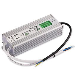 Outdoor LED Transformer, 150W LED Driver to 12 Volt DC Outpu