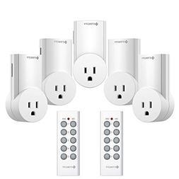 Etekcity Upgraded Version Wireless Remote Control Plug Elect