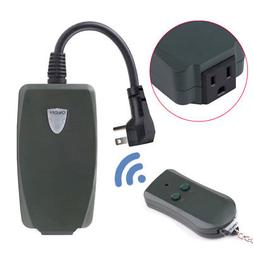 US Plug Remote Control Outlet Wireless Power Electrical Ligh