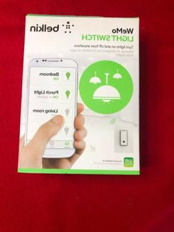 Belkin WeMo F7C030FC Smart Light Switch Wireless White New F