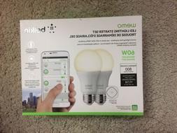Belkin WeMo Home Automation LED Lighting Starter Set  2 Pack