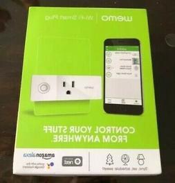 Wemo Mini Smart Plug WiFi Enabled Works with Alexa Google Ap