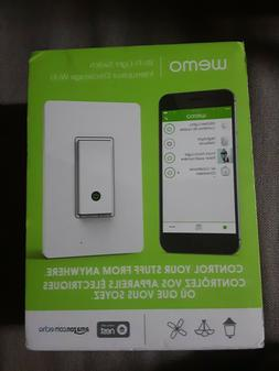 Wemo Smart Light Switch by Belkin - White -NEW IN BOX
