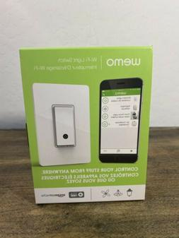 Wemo WiFi Light Switch, Compatible w/ Alexa and Google Assis