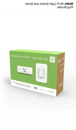 WeMo Wi-Fi Light Switch and Smart Plug Bundle