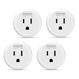 Wi-Fi Smart Plug Outlet Mini Work with Alexa, Google Home, I
