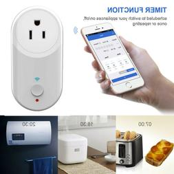 Wi-Fi Smart Socket Outlet Remote Control Timer Switch Alexa