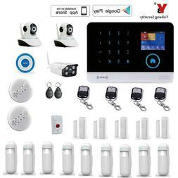 Yobang Security WIFI Gsm Touch <font><b>Keypad</b></font> Al