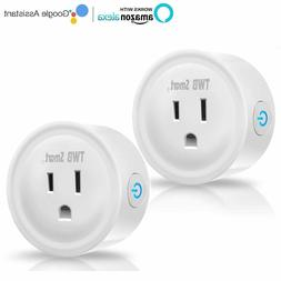 WiFi Smart Plug, Works with Amazon Echo & Google Home, No Hu