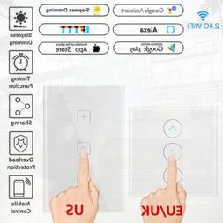 WIFI Smart Home Automation Control Wall Light 1 Gang Switch