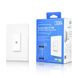 WiFi Smart Light Switch Compatible with Alexa Echo, Smartpho