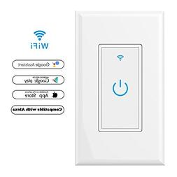 WiFi Smart Light Switch In-Wall,Phone Remote Control Wireles