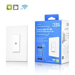 WiFi Smart Light Switch Work Alexa Echo, Smartphone Remote C