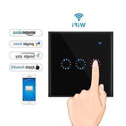 KOBWA WiFi Smart Light Switch, Wi-Fi Light Switch In-wall Wi