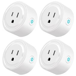 Wifi Smart Plug, Tonbux Switch Outlet Mini with Timing Funct