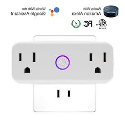 Wifi Smart Plug Home Accessories - Socket Compatible With Am
