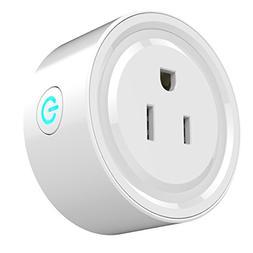 WiFi Smart Plug Mini Smart Outlet Socket Wireless Switch Wor