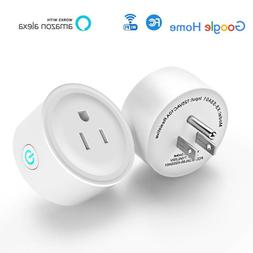 WiFi Smart Plug Remote Control Outlet with Alexa Google Home