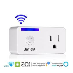 WiFi Smart Plug Socket Outlet Compatible with Alexa Google h