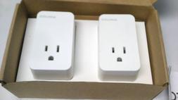 wifi smart plug wireless socket 2 pack