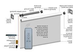 Window Blind & DIY Projector Screen Remote Control Motor Kit