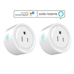 iDOBBi Wireless Mini Smart Plug Outlet - Compatible With Ale