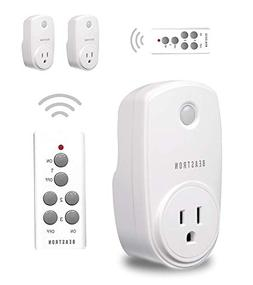 Beastron Wireless Remote Control Outlet, 3 Pack Light Switch