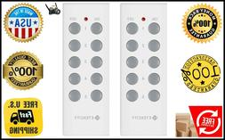 Etekcity Wireless Remote Control Electrical Outlet Switch Le