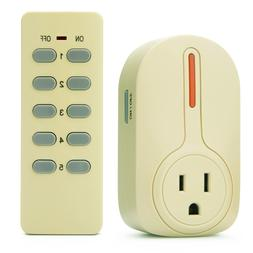 BESTTEN Wireless Remote Control Socket Outlet Switch Set  wi