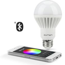 Nyrius Wireless Smart LED Multicolor Light Bulb for Smartpho