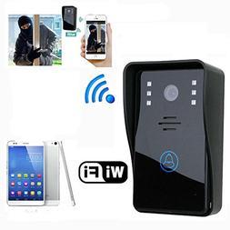 Wireless WiFi DoorBell Smart Video Phone Door Visual Door Ri