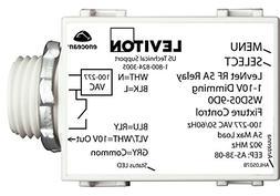 Leviton WSD05-9D0 LevNet RF 902MHz 1-10V Wireless 5A Relay D