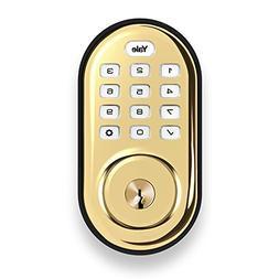 Yale YRD210-NR-605 Real Living Electronic Push Button Deadbo
