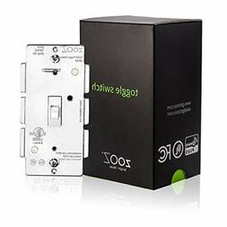 ZOOZ Z-Wave Plus Toggle On Off Wall Switch ZEN23  VER. 2.0,