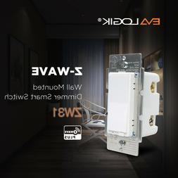 EVALOGIK Z-Wave Plus Dimmer Switch Smart Home Automation - W