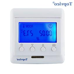 Topvico Z-Wave Plus <font><b>Thermostat</b></font> Floor Hea