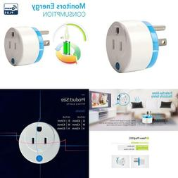 Haozee Z Wave Plus Mini Smart Power Plug Home Automation Zwa