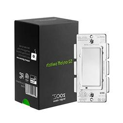 Zooz Z-Wave Plus S2 On Off Wall Switch ZEN26 with NEW Simple