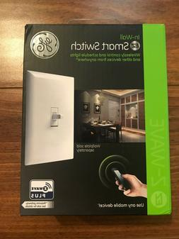 GE Z-Wave Plus Smart Control Light Switch, Toggle Style, On/