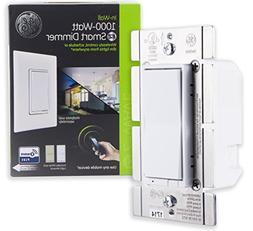 GE Enbrighten Z-Wave Plus 1000W Smart Dimmer Switch, for Inc