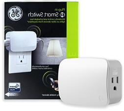 GE Z-Wave Plus Wireless Appliance ON/OFF Module, Dual Outlet