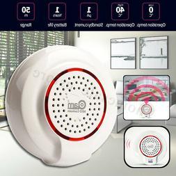 Z-Wave Sound Light Siren Alarm Sensor Home Smart Compatible