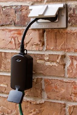 GE Z-Wave Wireless Smart Lighting Control Outdoor Module, On